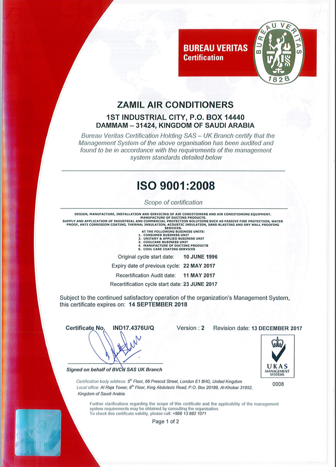 Zamil Air Conditioners